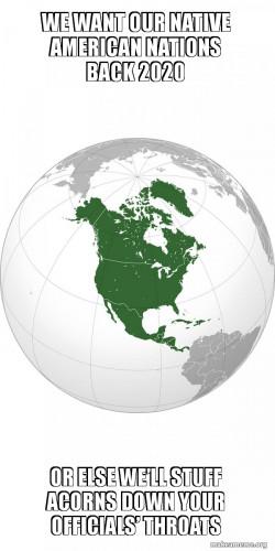 GIVE US BACK NATIVE AMERICAN NATIONS 2020 #coronavirus #equality #racialissues #native