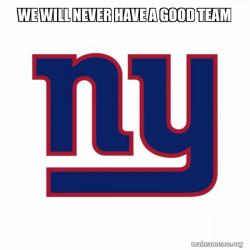 New York Giants SUCK