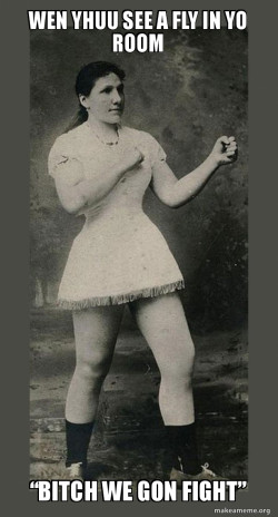 Overly Manly Woman