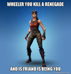 Renegade Raider Fortnite Skin