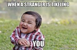 Evil, scheming toddler