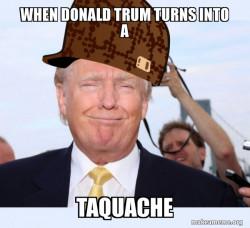Taquache Donald Trump