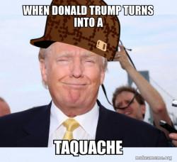 El taquache donald trump