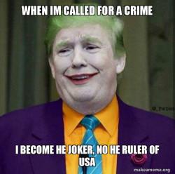Donald Trump - The Crminal