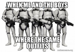 Cloth Troopers