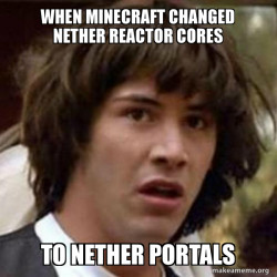 minecraft cores to portals