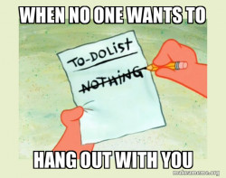 To Do List - Nothing
