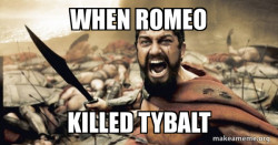 Romeo and Juliet meme