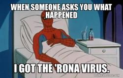 Spiderman Coronavirus