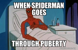 Puberty With...SpiderMan