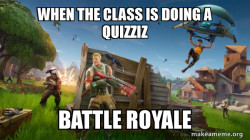 Fortnite Battle Royale game