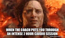 Cardio Session