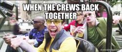 Tugboat crew