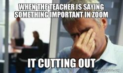 Zoom Frustration