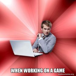 Me making game