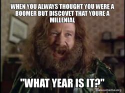 Robin Williams - What year is it? Jumanji Meme Generator ...