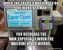 Self Checkout Machine