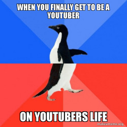 Socially Awkward Awesome Penguin