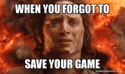 Frodo it's over it's done
