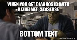 alzheimer's disease meme