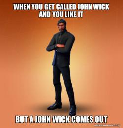 Fortnite ex john wick