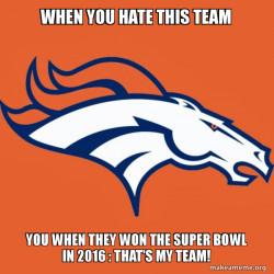 Denver Broncos oh yeah