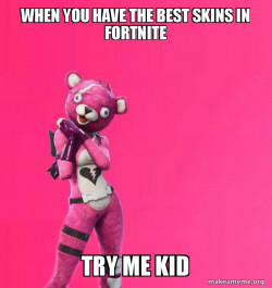 Creepy Bear Fortnite