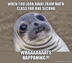 math class meme
