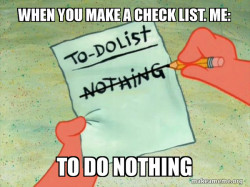 TO-DO List nothing