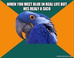weird blu