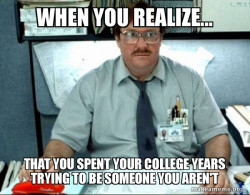 An Ox student's realization...