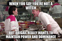 Abigail and power
