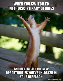 Happy Squirrel