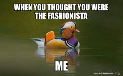 Fashionable Advice Mallard