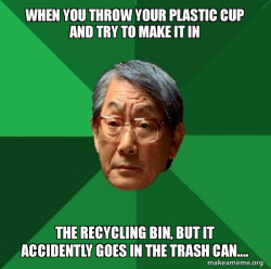 Earthday project: Recycling Meme