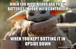 baby yoda is mad af at you
