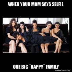 one big fake family