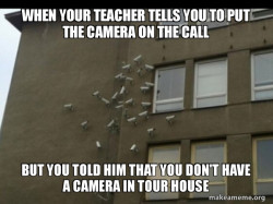 Camera in home