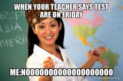Mean teacher 👩🏫