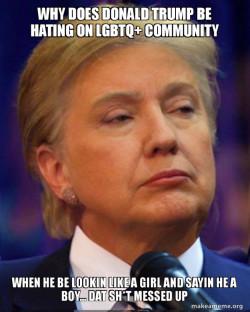 LGBTQ Donald