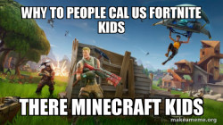 Fortnite kids