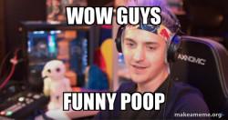 ninja poop