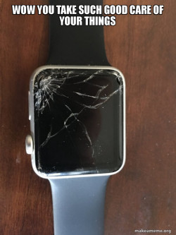 Broken Apple Watch