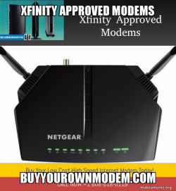 XFINITY APPROVED MODEMS