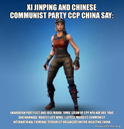 Xi Jinping and Chinese Communist Party CCP China say: Anakbayan  Partylist and Jose Maria 'Joma' Sison of CPP NPA NDF are 'FAKE AND WANNABE' Maoist Left Wing / Leftist Marxist Communist International Criminal Terrorist Organization for Insulting China