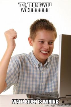 First debate the internet kid is watching