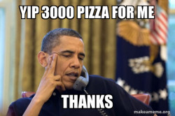 Obama Ordering a Pizza (on the phone)