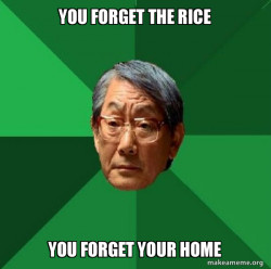 High Expectations Asian Father