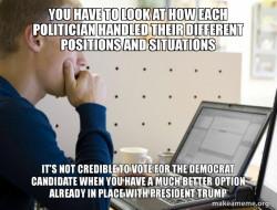 VOTE FOR PRESIDENT DONALD TRUMP