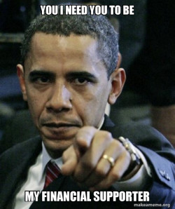 Angry Obama